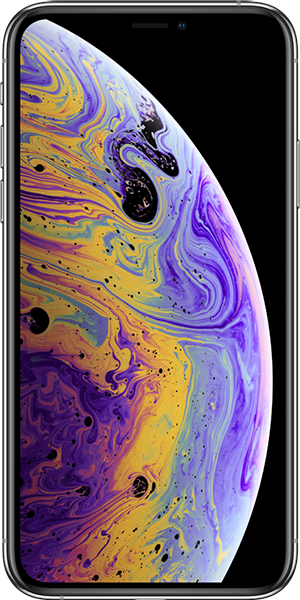 iphone.xs.silber.front