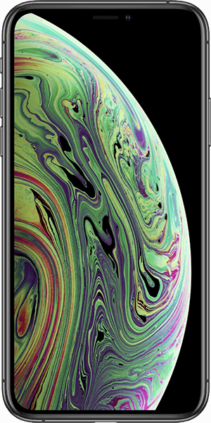 iphone.xs.spacegrau.front